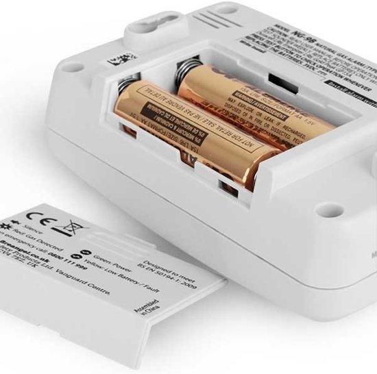 FireAngel NG-9B-INT aardgasmelder product shot 2