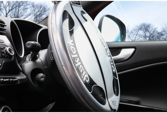 defa disklok stuurslot auto in gebruik