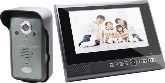 deurbel met camera bekijken op scherm