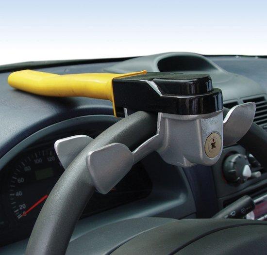 rotarylock stuurslot in gebruik