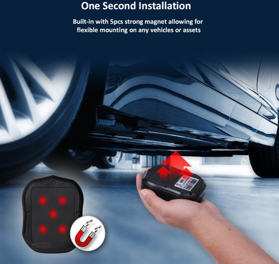 Tracemaster GPS tracker magneet